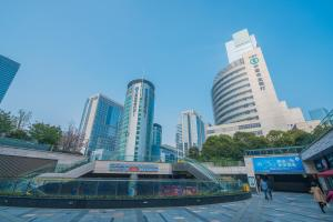 The Pushi Global 188 Serviced Apartment, Apartmány  Suzhou - big - 84