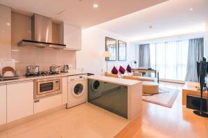 The Pushi Global 188 Serviced Apartment, Apartmány  Suzhou - big - 29