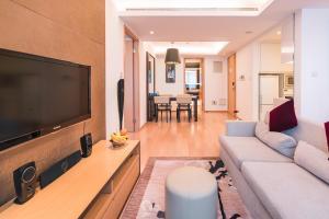 The Pushi Global 188 Serviced Apartment, Appartamenti  Suzhou - big - 14