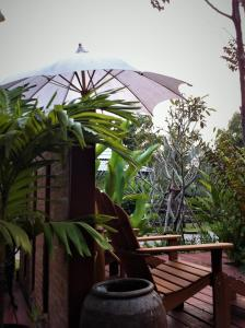 Vila s výhledem do zahrady