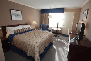 Standard Zimmer mit Queensize-Bett und eigener Auffahrt