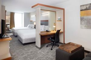 SpringHill Suites Indianapolis Downtown, Hotels  Indianapolis - big - 4