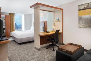 SpringHill Suites Indianapolis Downtown, Hotels  Indianapolis - big - 12
