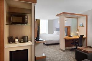 SpringHill Suites Indianapolis Downtown, Hotels  Indianapolis - big - 10