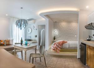 Spiros, Apartmanhotelek  Náxosz - big - 194