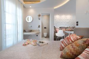 Spiros, Apartmanhotelek  Náxosz - big - 156