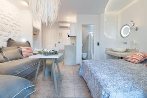 Spiros, Apartmanhotelek  Náxosz - big - 165