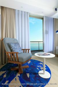 Habitación Premium con terraza y vistas al mar