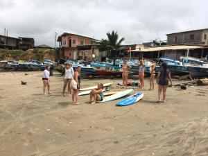 Hostal Puerto Engabao Surf Shelter, Hostels  Engabao - big - 32