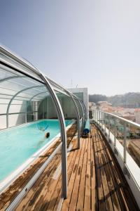 Hotel Praia, Отели  Назаре - big - 101