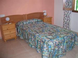 Pensión Las Tres Golondrinas, Vendégházak  Es Figueral Beach - big - 4