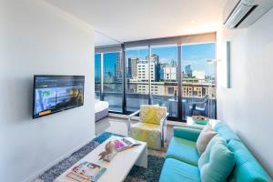 Aura on Flinders Serviced Apartments, Aparthotels  Melbourne - big - 25
