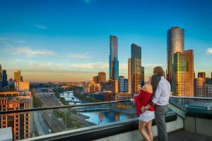 Aura on Flinders Serviced Apartments, Aparthotels  Melbourne - big - 14