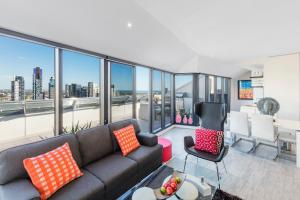 Aura on Flinders Serviced Apartments, Aparthotels  Melbourne - big - 16