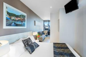 Aura on Flinders Serviced Apartments, Aparthotels  Melbourne - big - 17