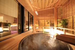 Japanese-Style Family Room with Open-Air Bath - Annex