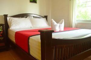 Dvoulůžkový pokoj s manželskou postelí nebo oddělenými postelemi a vlastní koupelnou