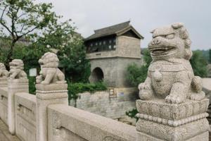 Beijing GuBei Water town Great Wall Yuanzhu Sweet Apartment, Apartments  Miyun - big - 31