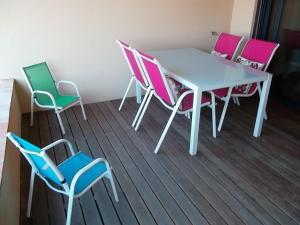 Mar da Luz, Algarve, Apartmány  Luz - big - 10