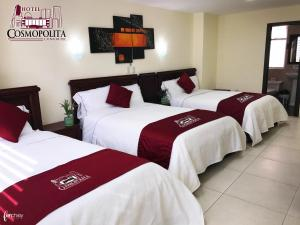 Hotel Cosmopolita Ambato, Hotels  Ambato - big - 17