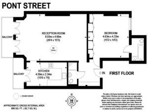Pont Street, Appartamenti  Londra - big - 2