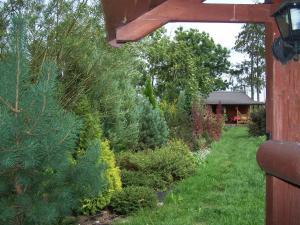Domek na Skraju Wsi, Chaty v prírode  Konopki Wielkie - big - 32