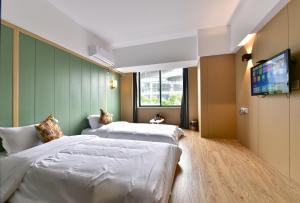 Super 8 Hotel Ningbo Zhaohui, Hotely  Ningbo - big - 3