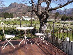 Auberge La Dauphine Guest House, Penzióny  Franschhoek - big - 6