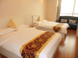 Dalian Xinshijia Ganghui Service Apartment, Апартаменты  Далянь - big - 10