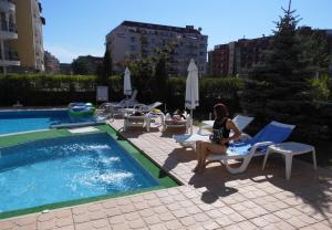 Sunny House Apart Hotel, Apartmanhotelek  Napospart - big - 135