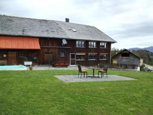 Ferienhaus Wiesenhof, Апартаменты  Шварценберг-им-Брегенцервальд - big - 29