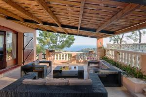 Romantic Villa near Monaco, Ville  Roquebrune-Cap-Martin - big - 8