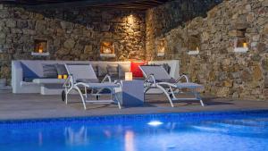 Mykonos Panormos Villas & Suites, Ville  Panormos Mykonos - big - 26