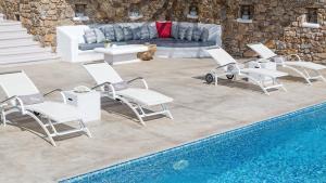 Mykonos Panormos Villas & Suites, Vily  Panormos Mykonos - big - 148