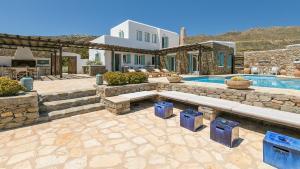 Mykonos Panormos Villas & Suites, Vily  Panormos Mykonos - big - 119