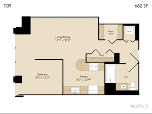 Modern Loop Apartments, Aparthotels  Chicago - big - 36