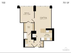 Modern Loop Apartments, Aparthotels  Chicago - big - 37