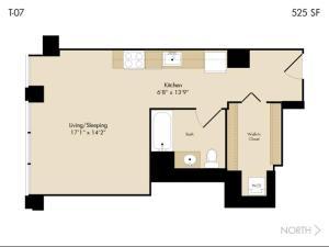 Modern Loop Apartments, Aparthotels  Chicago - big - 38