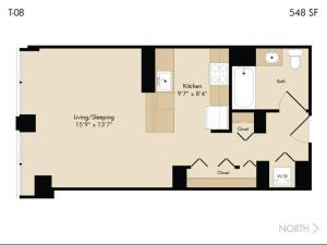 Modern Loop Apartments, Aparthotels  Chicago - big - 39