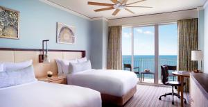 Ocean Front View Room with Two Doubles