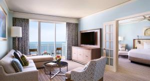 Ocean Front View One Bedroom Executive Suite and Balcony