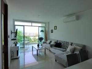 Apto 401 * Costa Azul, Ferienwohnungen  Santa Marta - big - 39