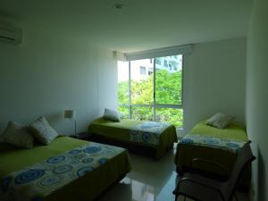 Apto 401 * Costa Azul, Ferienwohnungen  Santa Marta - big - 32