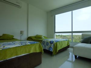 Apto 401 * Costa Azul, Ferienwohnungen  Santa Marta - big - 30