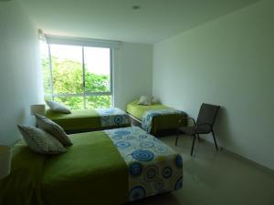 Apto 401 * Costa Azul, Ferienwohnungen  Santa Marta - big - 53