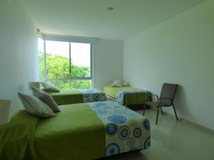 Apto 401 * Costa Azul, Ferienwohnungen  Santa Marta - big - 52
