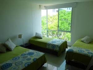 Apto 401 * Costa Azul, Ferienwohnungen  Santa Marta - big - 51
