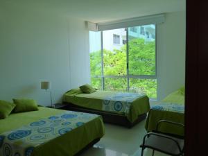Apto 401 * Costa Azul, Ferienwohnungen  Santa Marta - big - 49