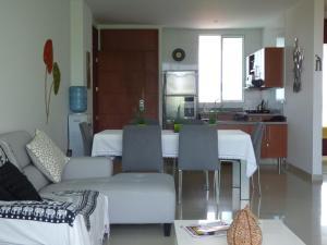 Apto 401 * Costa Azul, Ferienwohnungen  Santa Marta - big - 41