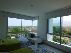 Apto 401 * Costa Azul, Ferienwohnungen  Santa Marta - big - 8